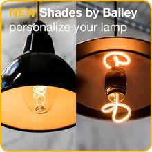 BAILEY – Personnalisez votre luminaire!