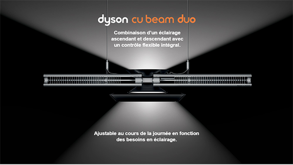 DYSON – L'innovation en éclairage